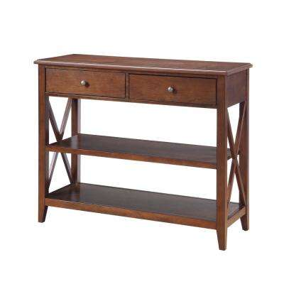 Wesley Walnut Console Table