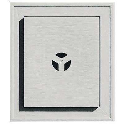 7 in. x 8 in. #030 Paintable Square Universal Mounting Block