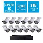 Q-See 32-Channel 4K 3TB H.265 NVR Security Surveillance System