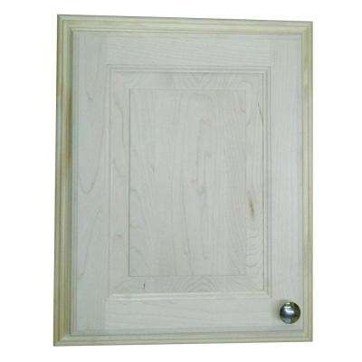Napa Valley 19.5 in. H x 15.5 in. W x 3.5 in. D Recessed Medicine Cabinet