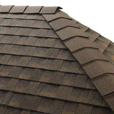 Timbertex Barkwood Hip and Ridge Shingles (20 lin. ft. per Bundle)
