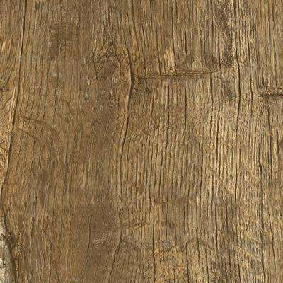 Take Home Sample - Trail Oak Beige and Grey Click Vinyl Plank - 4 in. x 4 in