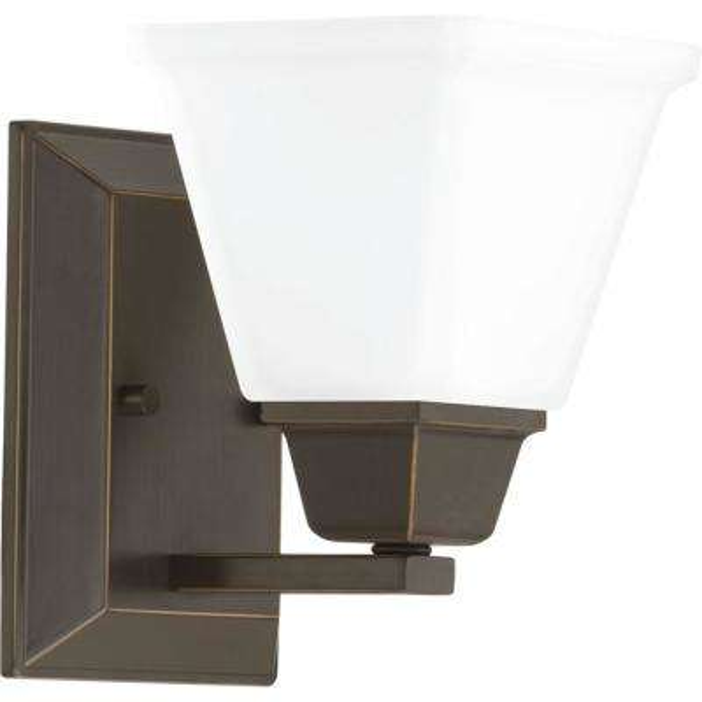 Clifton Heights Collection 1-Light Antique Bronze Bath Light