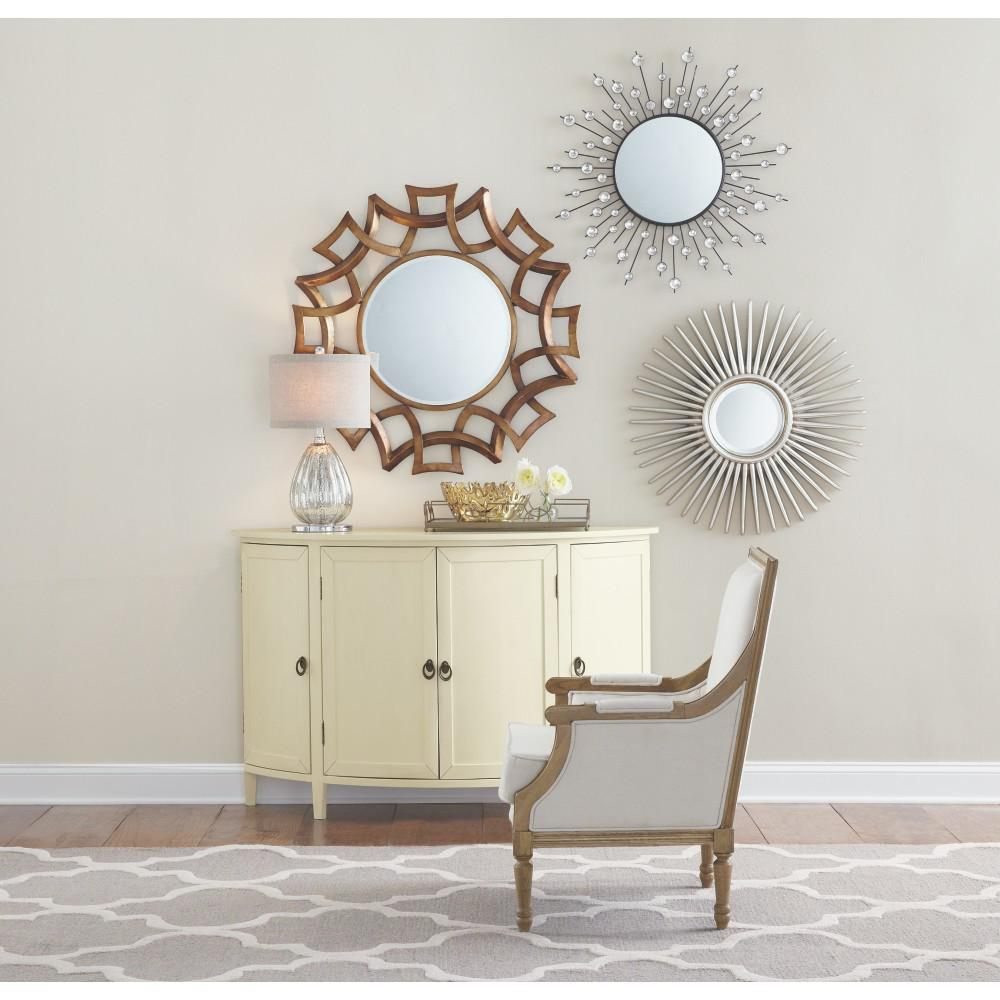 Diamond Mirror. Decorative   Mirrors   Wall Decor   The Home Depot