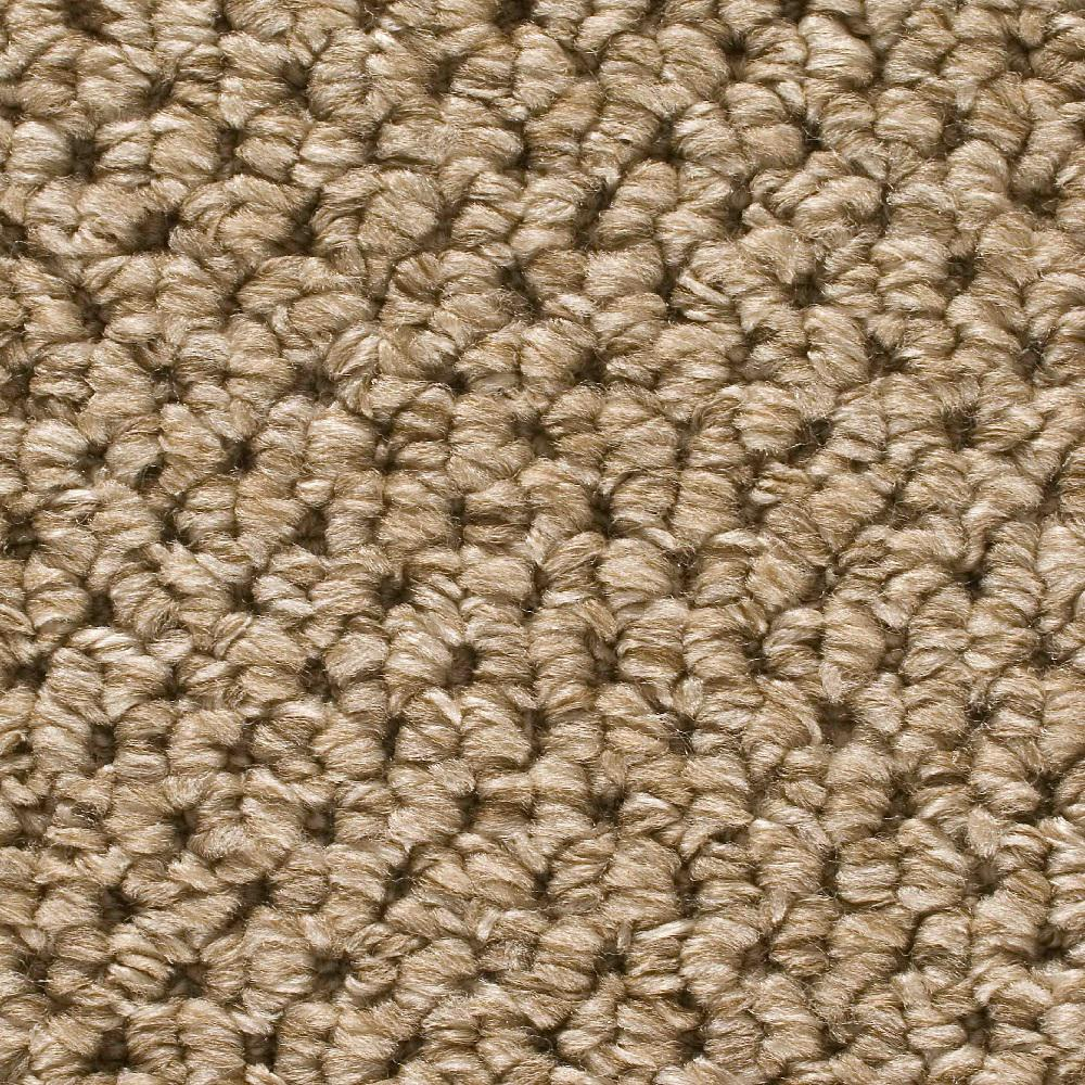Carpet Sample Corkwood Color Tidewater Loop 8 In X 8 In