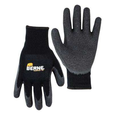 Large Black Heavy Duty Quick Grip Gloves (1-Pack)