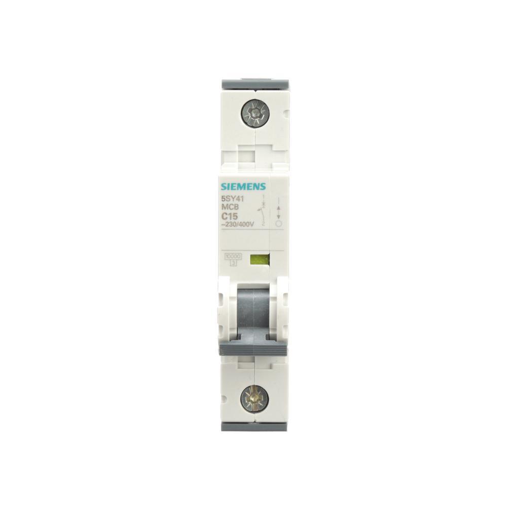 Siemens 15 Amp Single-Pole Circuit Breaker