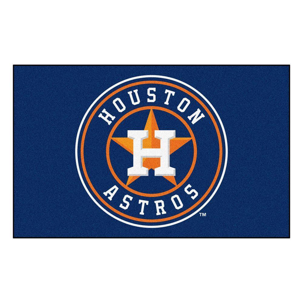 FANMATS Houston Astros 5 ft. x 8 ft. Ulti-Mat-6486 - The ...