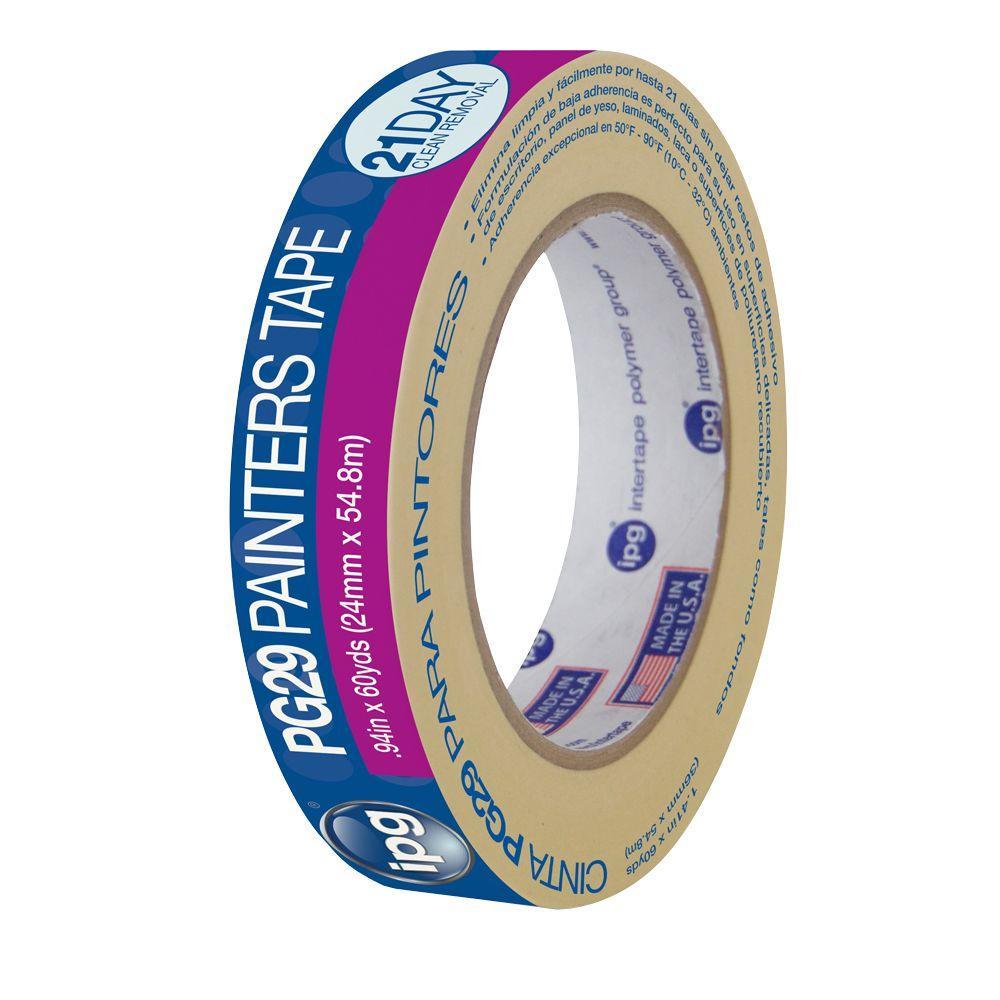 IPG PG29 0.94 in. x 60 yds. Premium Grade Low Tack Masking Tape