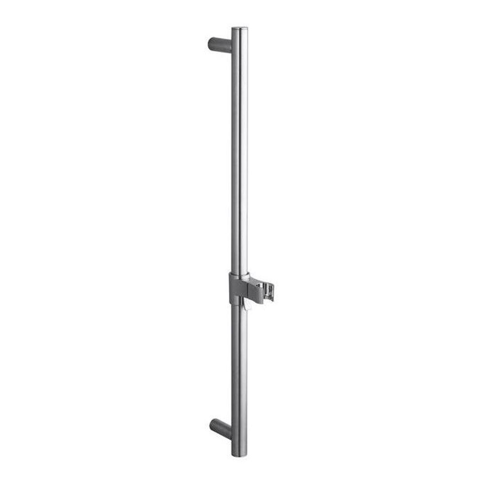 KOHLER 24 in. Shower Slide Bar in Brushed Chrome