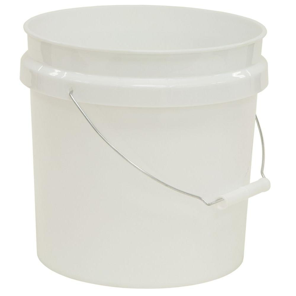United Solutions 2 gal. Bucket in White