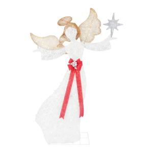 7.5 ft  Polar Wishes LED Angel with Star