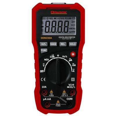 Digital Multimeter with NCV