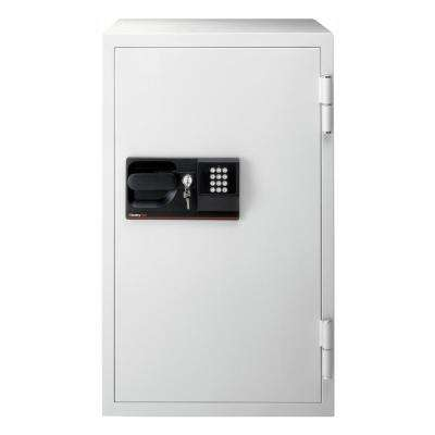 5.8 cu ft Steel Commercial Safe with Electronic Lock and Key Lock