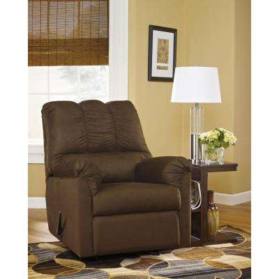 Signature Design by Ashley Darcy Cafe Fabric Rocker Recliner