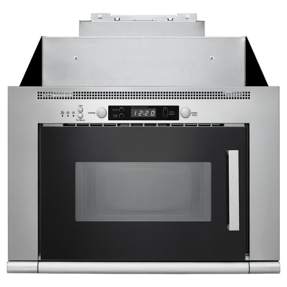 Over The Range E Saving Microwave Hood Combination In