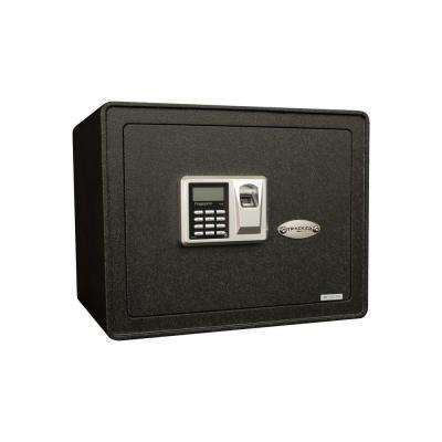 1.21 cu. ft. All Steel Security Safe with Biometric Lock, Textured Black