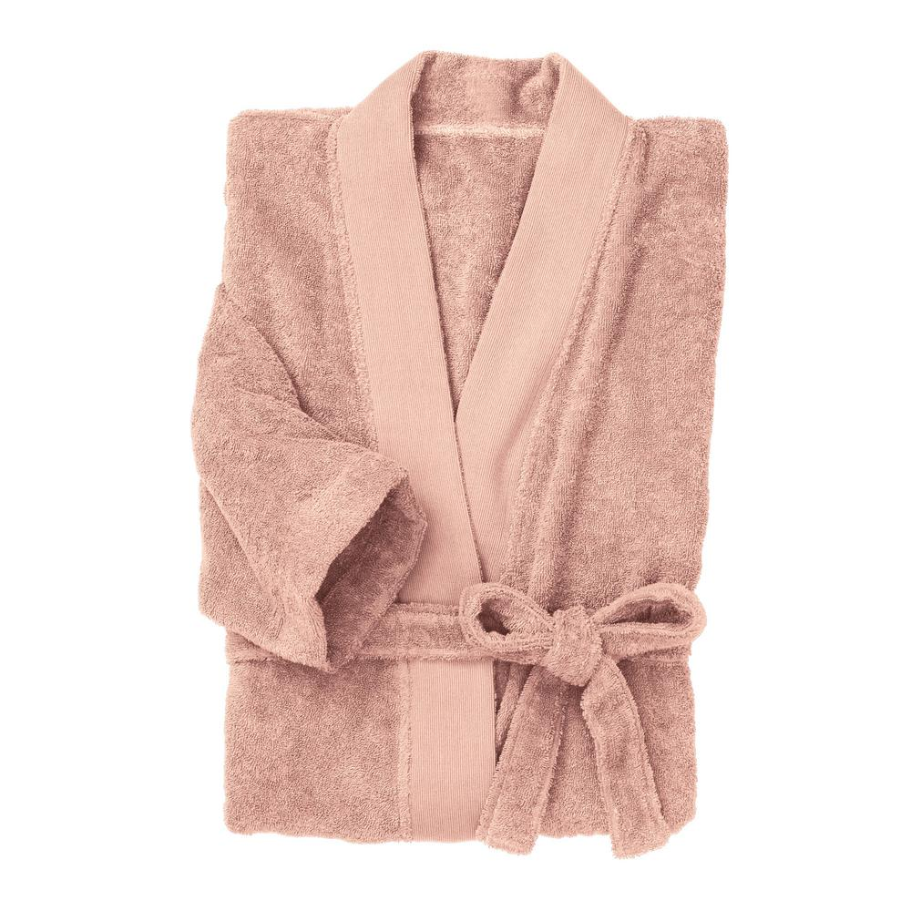19a692d5a3 The Company Store Organic Terry Cotton Large Extra Large Blush Bath Robe.  Write a review