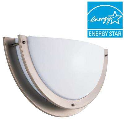 Nexus 1-Light Brushed Nickel Sconce