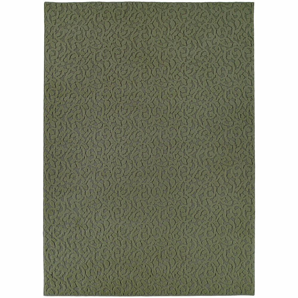 Garland Rug Ivy Sage 6 Ft X 9 Ft Area Rug Cl 01 0n 0069 05 The Home Depot