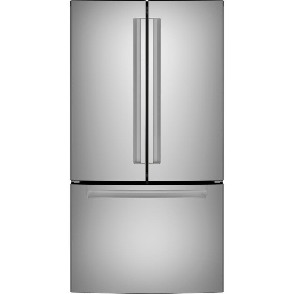 27 cu. ft. Bottom Freezer Refrigerator in Stainless Steel