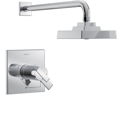 Ara TempAssure 17T Series 1-Handle Shower Faucet Trim Kit in Chrome (Valve Not Included)