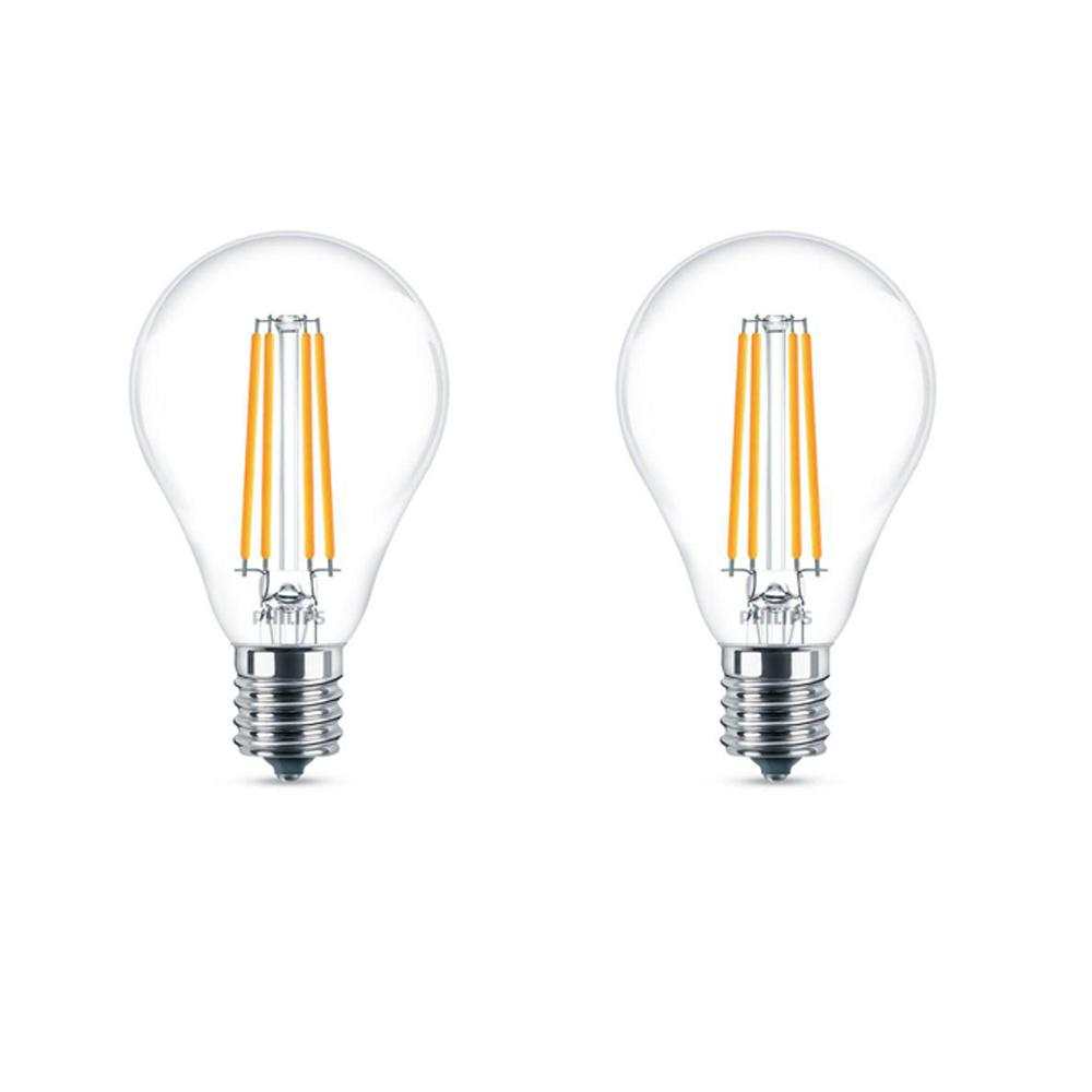 Philips 60 Watt Equivalent A15 Dimmable Led Light Bulb