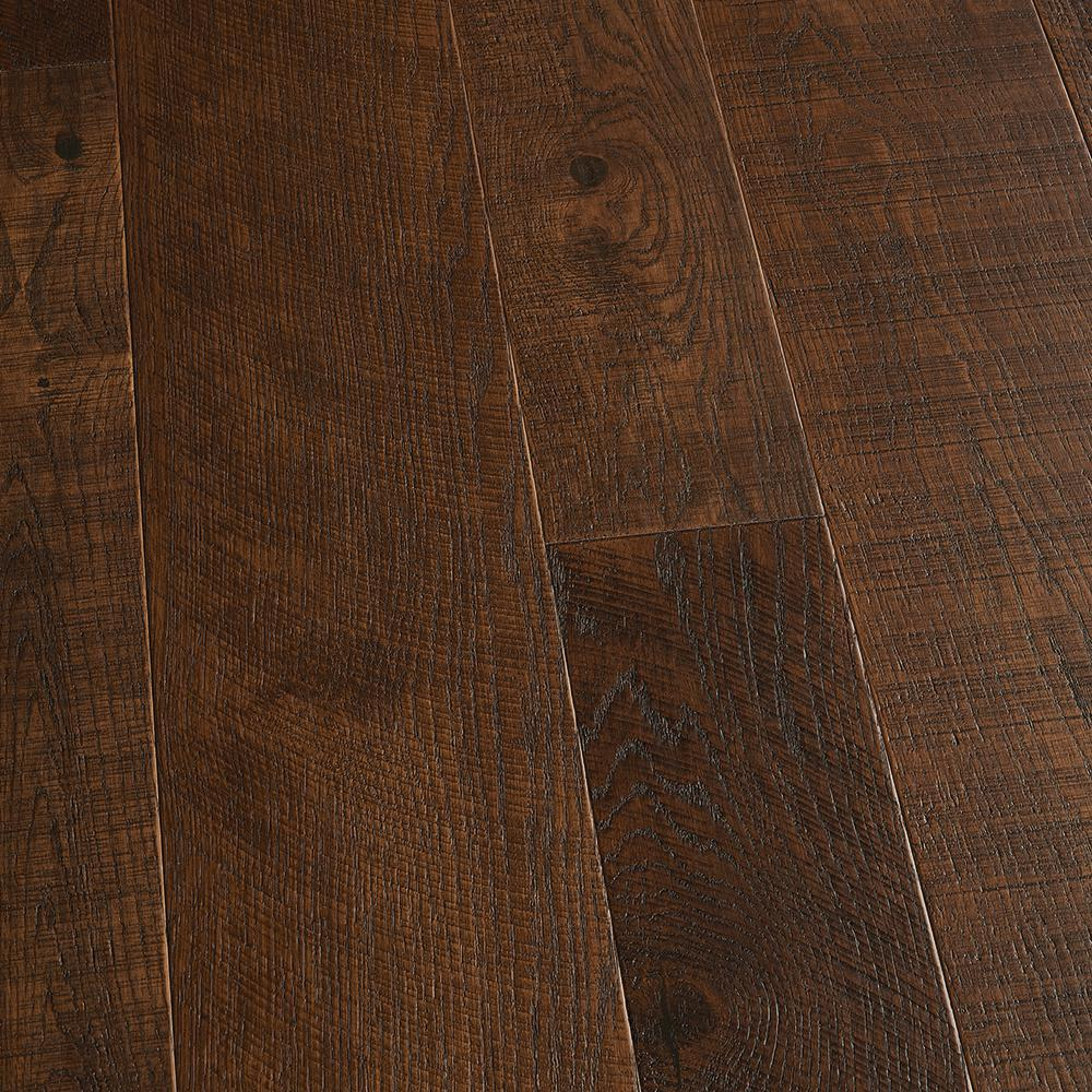 Malibu Wide Plank Take Home Sample French Oak Francis Engineered Click Lock Hardwood Flooring 5 In. X 7 In.