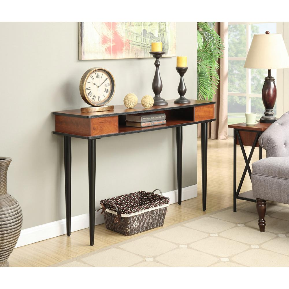 Multi colored entryway tables entryway furniture the home depot tucson black and cherry storage console table convenience geotapseo Gallery