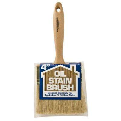 4 in. Oil Stain Bristle Brush