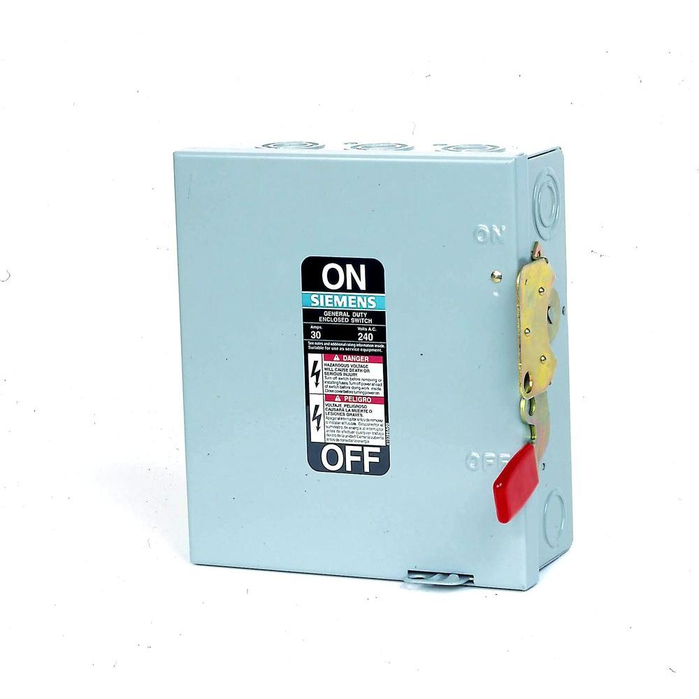 siemens safety switches gf321nr 64_1000 ge 100 amp 240 volt non fused emergency power transfer switch fuse box safety switch at edmiracle.co