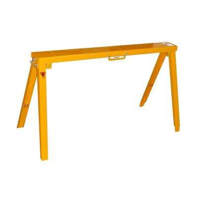 34 in. Adjustable Folding Sawhorse