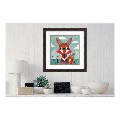 27.38 in. W x 27.38 in. H Fox by PI Studio Printed Framed Wall Art