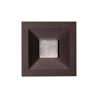 Aurora Esspresso Outdoor Integrated LED Wall Mount Sconce