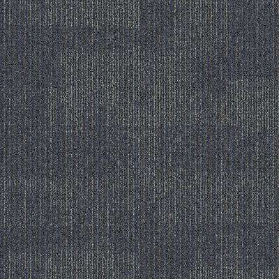 Second Nature Space Patterned 24 in. x 24 in. Carpet Tile (24 Tiles/Case)