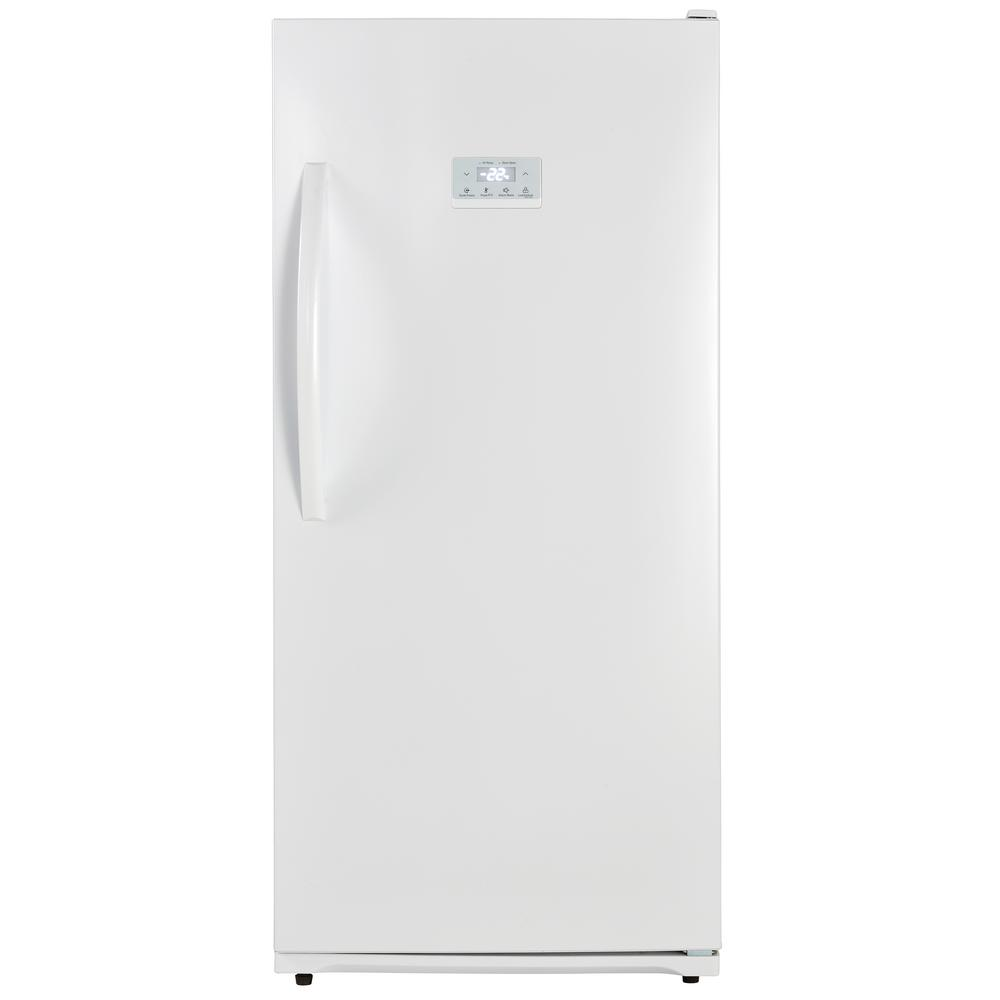 Upright Freezer in White  sc 1 st  The Home Depot & Frigidaire 5.8 cu. ft. Upright Freezer in White-FFFU06M1TW - The ...