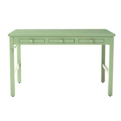 Kids 43 in. W Rhododendron Craft Table with Paper Roll