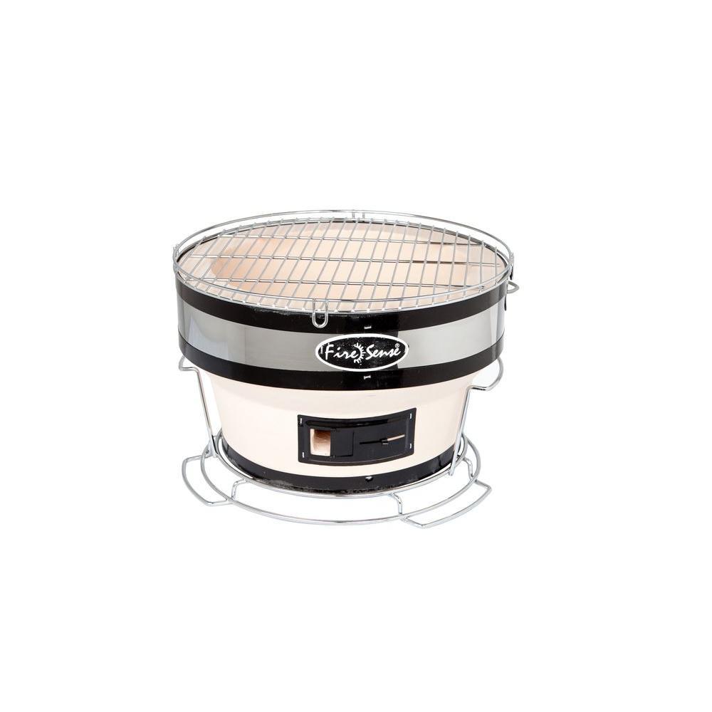 Fire Sense Small Yakatori Portable Charcoal Grill In Tan