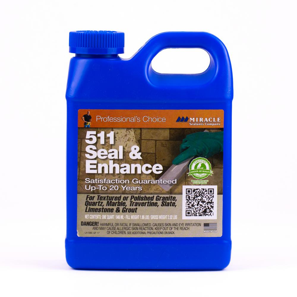 511 Seal And Enhance Stone Sealer Enhancer