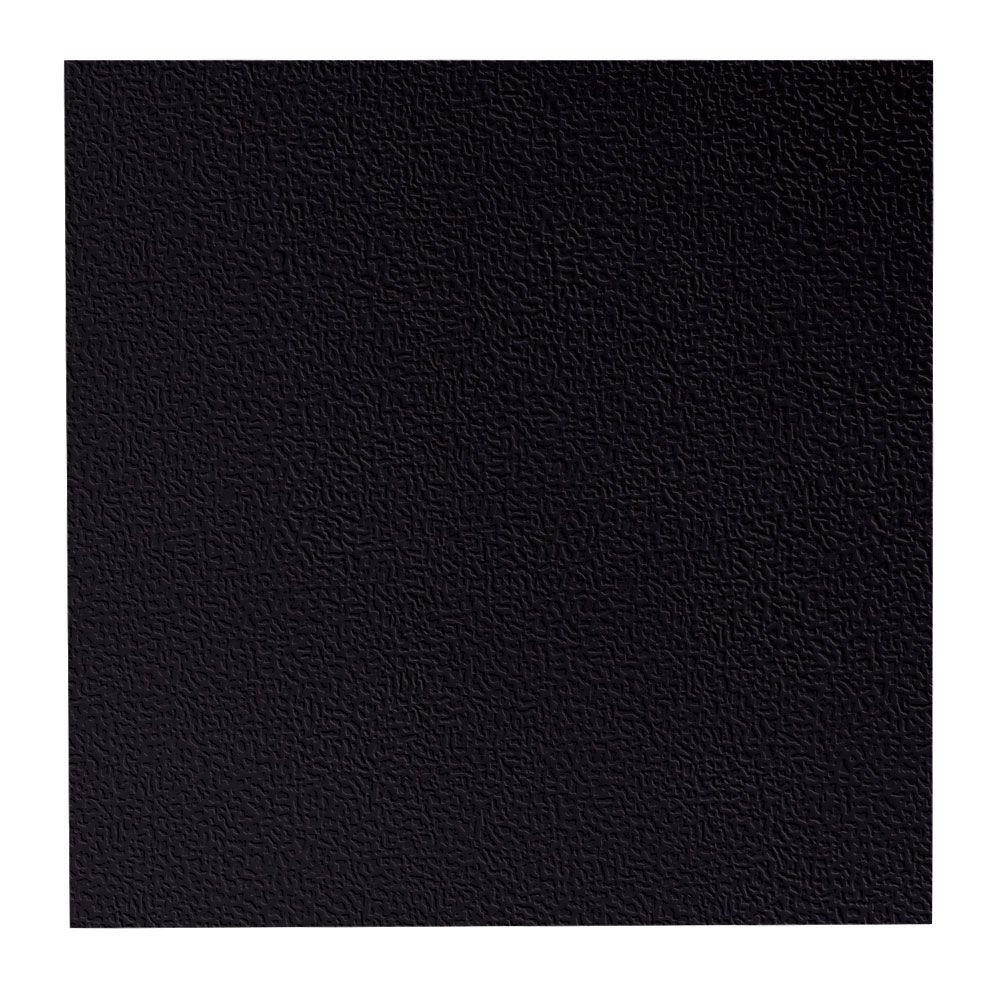 roppe hammered pattern 19 69 in x 19 69 in black rubber