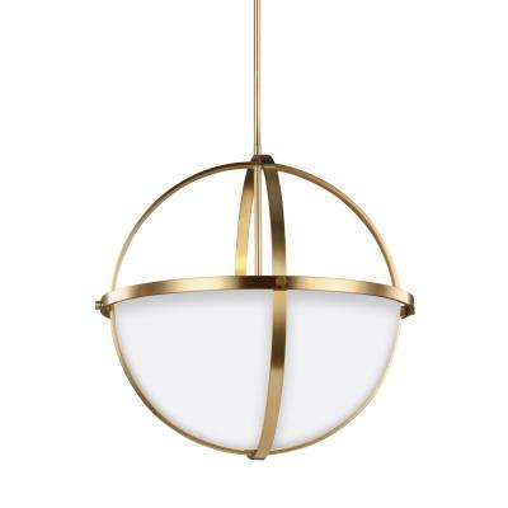 Alturas 3-Light Satin Bronze Pendant