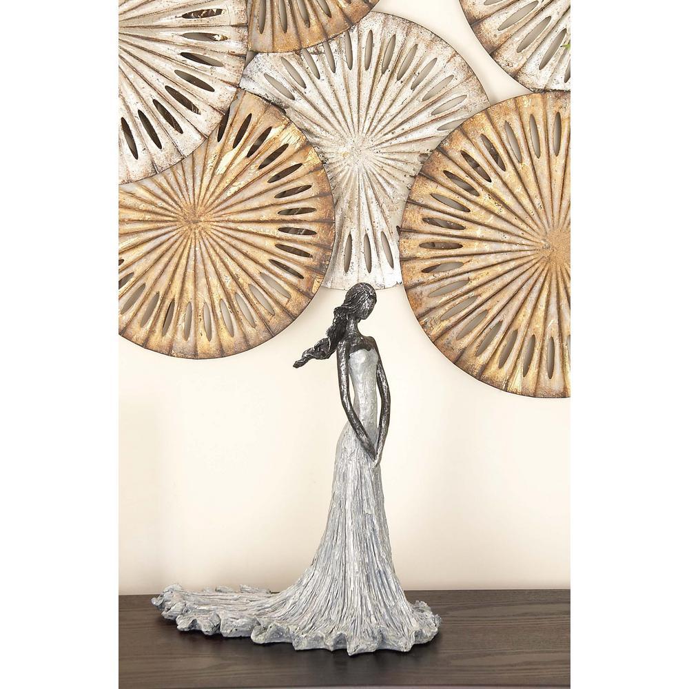 Litton Lane 15 in. x 13 in. The Maid Decorative Figurine