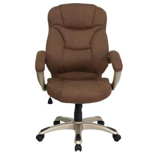 Exceptional Internet #301745389. Flash Furniture High Back Brown Microfiber  Contemporary Executive Swivel Office Chair