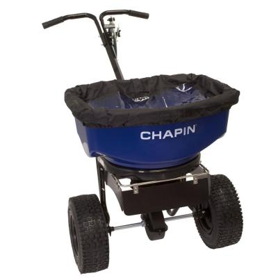 82088B 80-Pound Professional Sure Spread Ice Melt and Salt Spreader with Baffles
