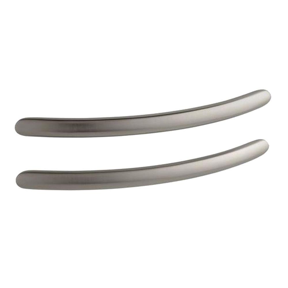 KOHLER RiverBath 20.59 in. x 1 in. Grip Rails in Vibrant Brushed Nickel
