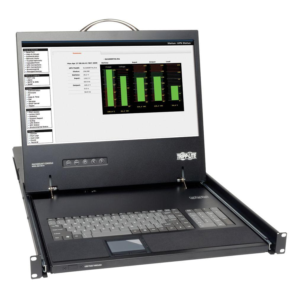 HD15 to VGA Port Rack-Mount Console