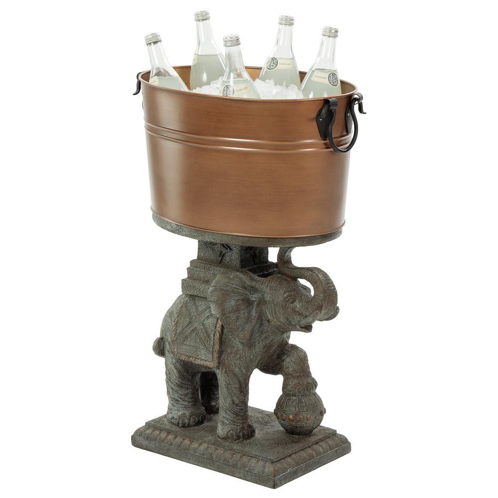 21 Qt. Elephant Beverage Tub