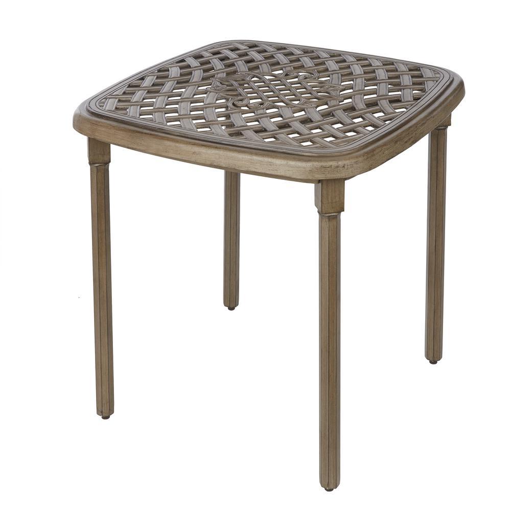 Cavasso Square Metal Outdoor Bistro Table