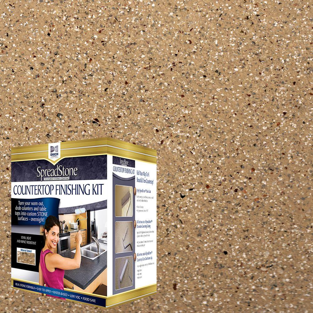 DAICH SpreadStone Mineral Select 1 qt. Canyon Gold Countertop Refinishing Kit (4-Count)