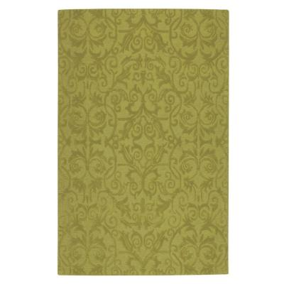 Home Decorators Collection Bella Sage 8 ft. x 11 ft. 100% Wool Area Rug